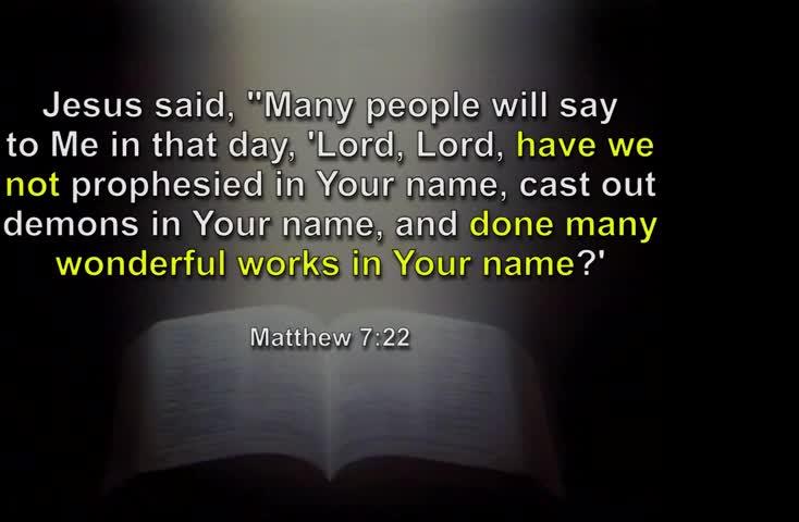 How can I know I am really saved?