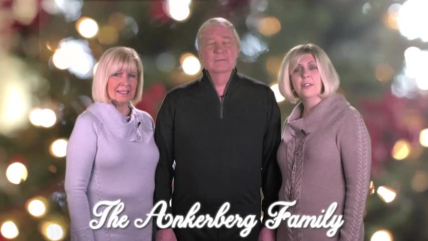 Merry Christmas from the Ankerbergs