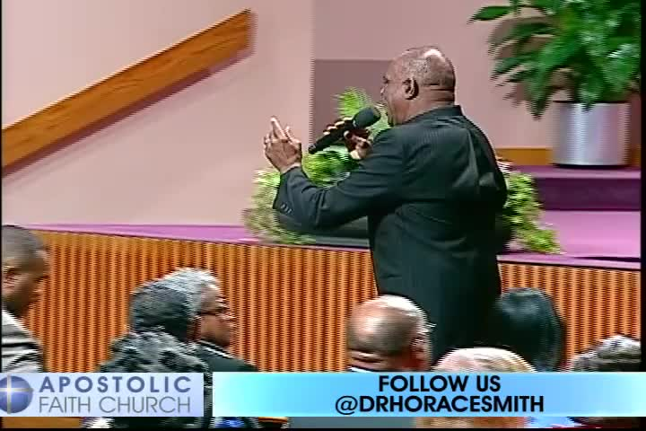 Vessel of Honor by Apostolic Faith Church with Bishop Horace E. Smith, M.D.