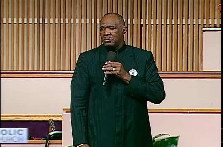 Only The Cross by Apostolic Faith Church with Bishop Horace E. Smith, M.D.