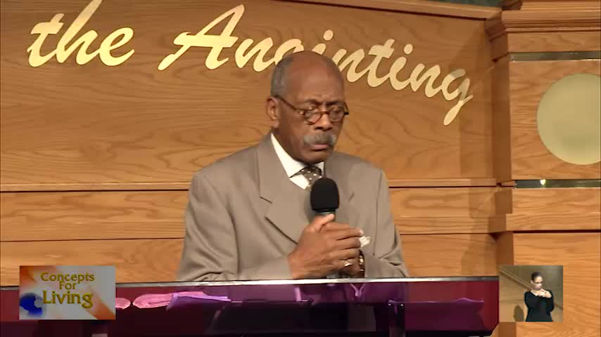 Concepts for Living with Bishop Vernon G. Lambe, Sr. & Elder Ruth Ann Lambe