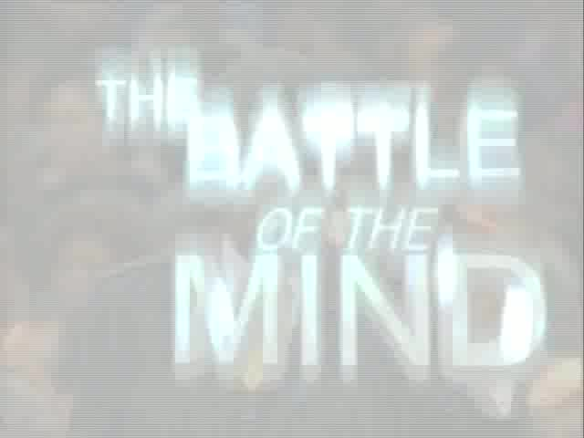 The Battle of the Mind: Our Thought Life and our Armor, MB14