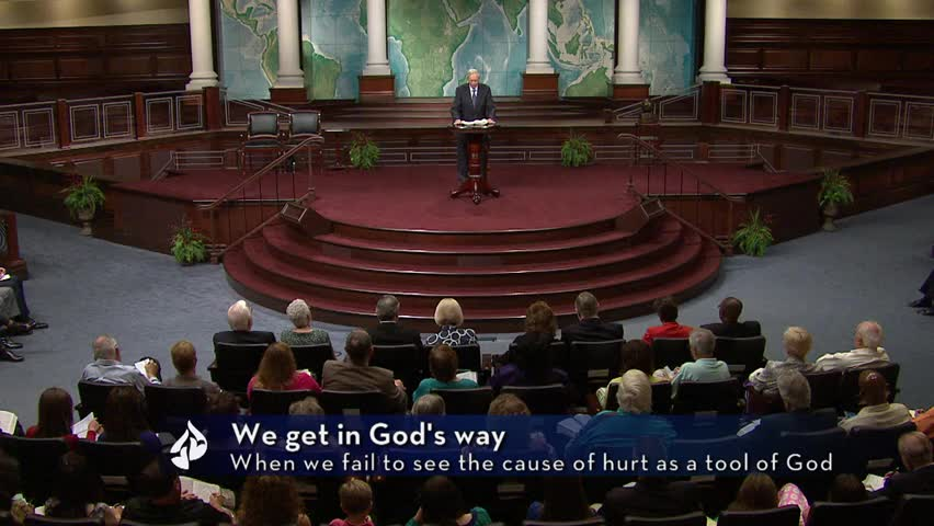 Are You Getting In God's Way? by In Touch Ministries with Charles F. Stanley