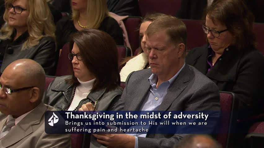 Thanksgiving in the Midst of Adversity