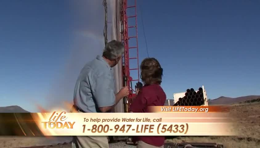 Water For LIFE by LIFE Today with James and Betty Robison