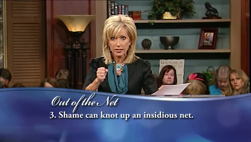 """Beth Moore: """"Out of the Net,"""" part 3 by LIFE Today with James and Betty Robison"""