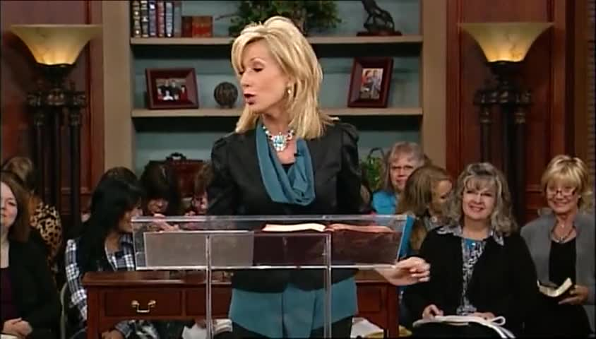 """Beth Moore: """"Out of the Net,"""" part 2 by LIFE Today with James and Betty Robison"""