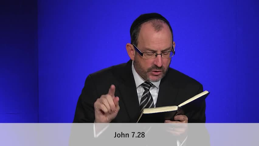John Chapter 7, Part 3 by Love Israel with Dr. Baruch Korman