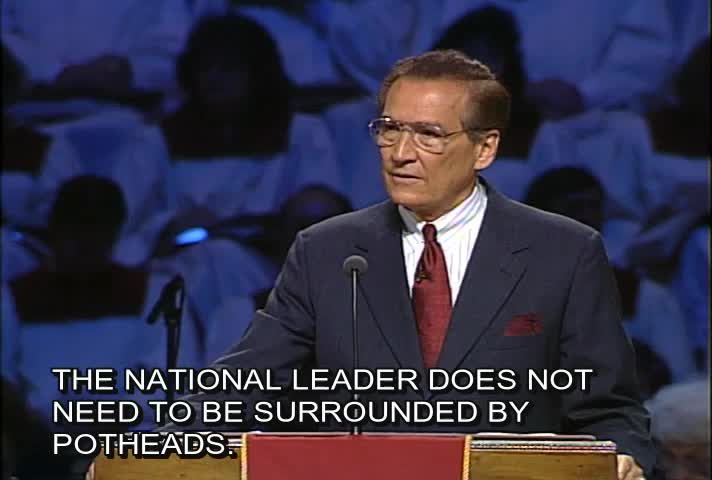 Leadership Crisis in America by Love Worth Finding with Adrian Rogers