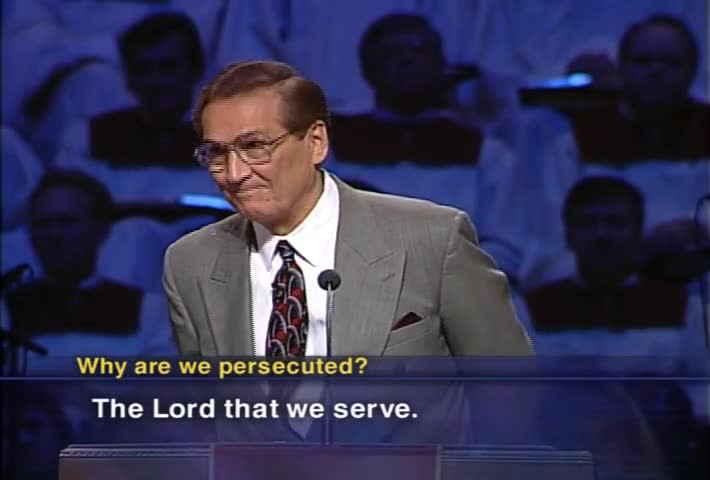 How to Prepare for Persecution by Love Worth Finding with Adrian Rogers