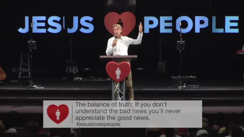Jesus Loves People, BUT… - Part A