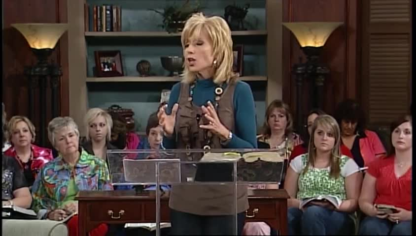 "Beth Moore: ""Spiritual Discernment,"" part 1"