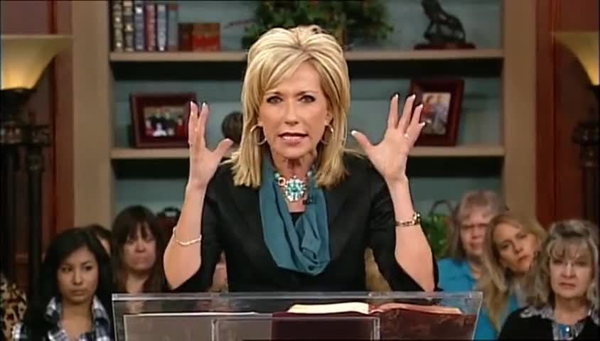 """Beth Moore: """"Out of the Net,"""" part 1"""