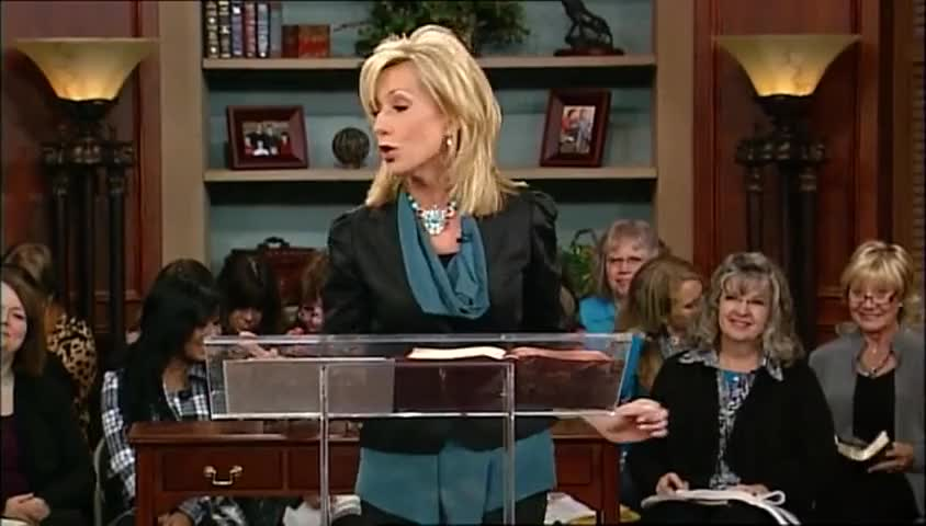 """Beth Moore: """"Out of the Net,"""" part 2"""