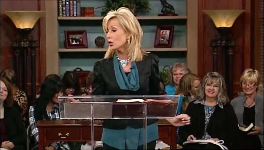 "Beth Moore: ""Out of the Net,"" part 2 by Beth Moore - Wednesdays with Beth with Beth Moore"