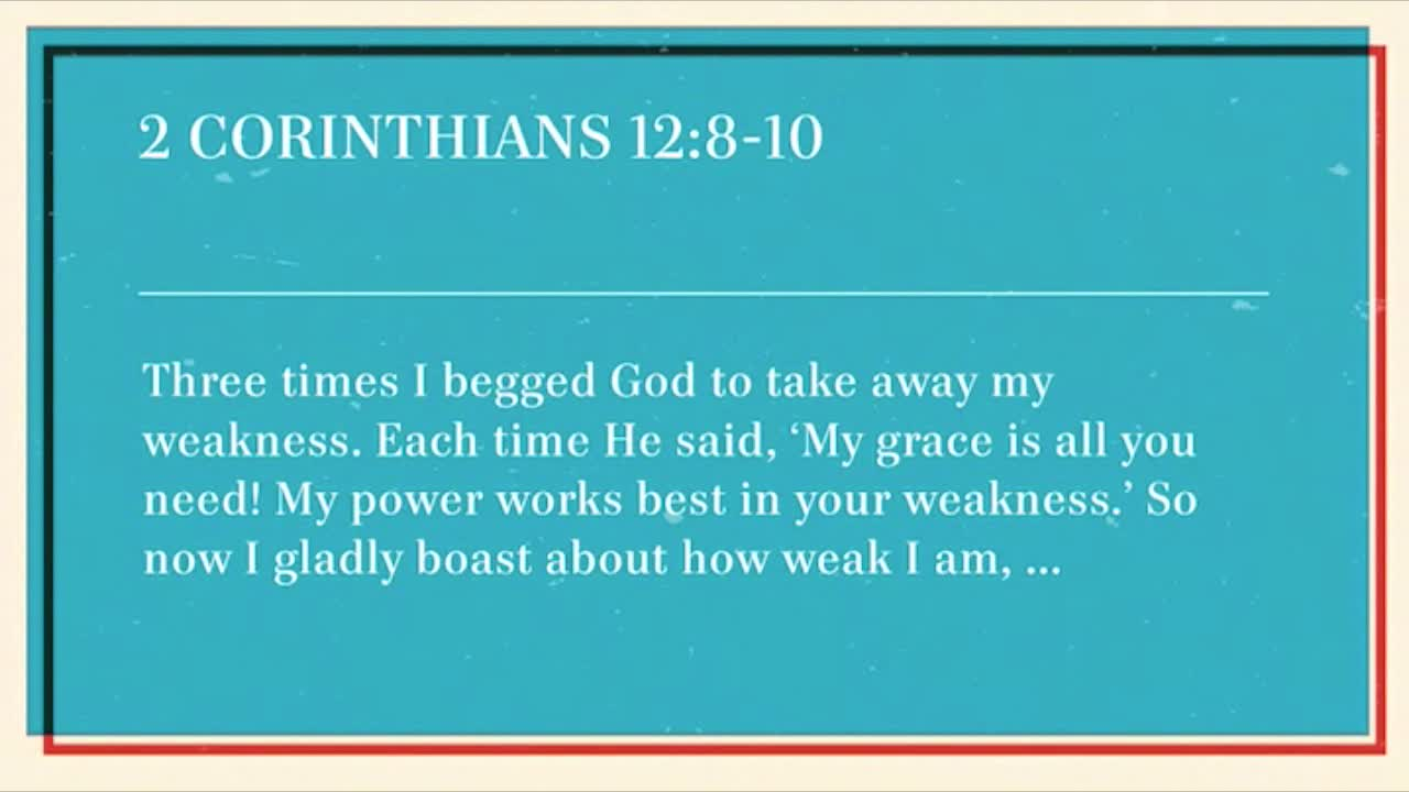 How Do I Deal With My Weaknesses? (The Keys to a Blessed Life)