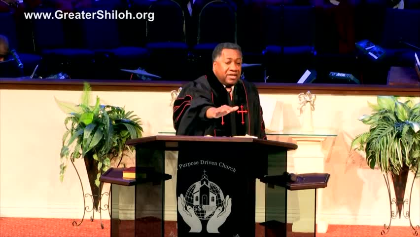 An Encouragement to Pray by Greater Shiloh Missionary Baptist Church with Dr. Michael W. Wesley Sr.