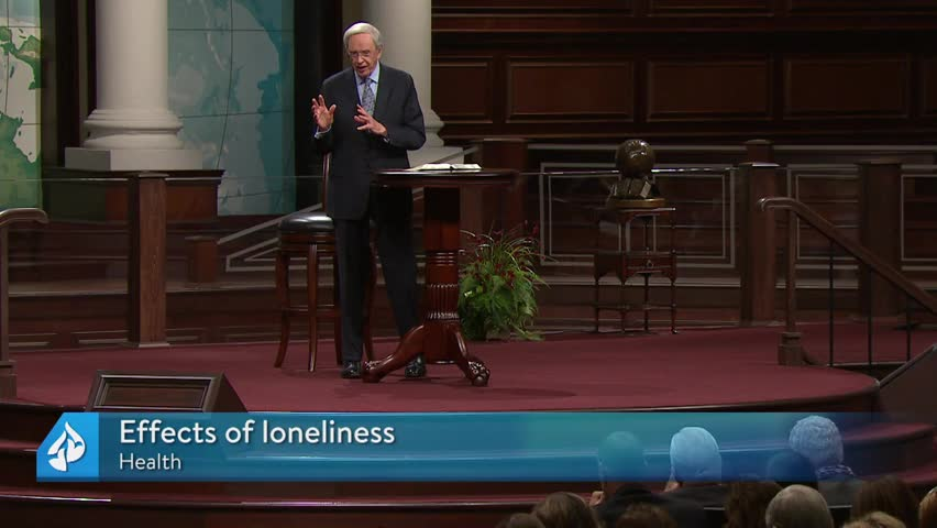 Living In The Shadows Of Loneliness - In Touch Ministries with