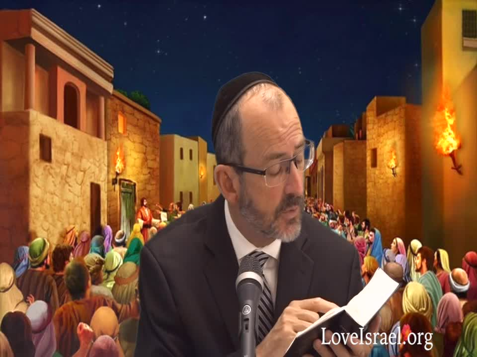 Genesis Chapter 19 Part 1 (19: 1-15) by Love Israel with Dr. Baruch Korman