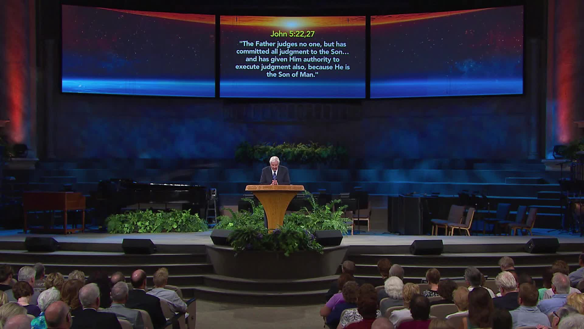 The Judge of the Great White Throne Judgment by Prophecy Academy  with Dr. David Jeremiah