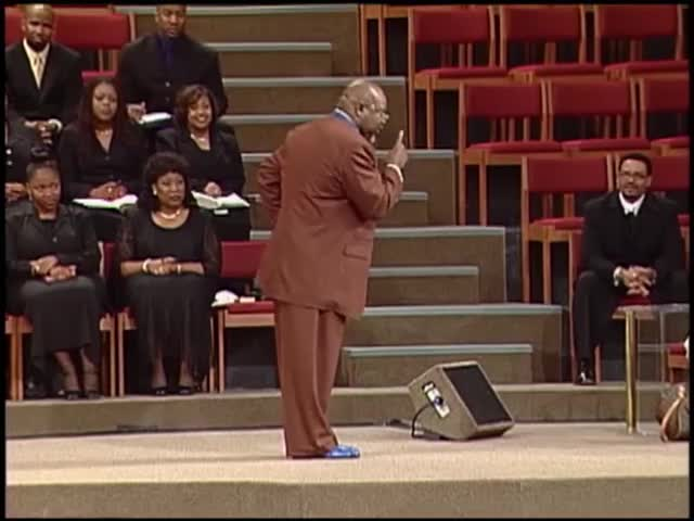 Stumbling Into the Place - The Potter's Touch with Bishop T D  Jakes