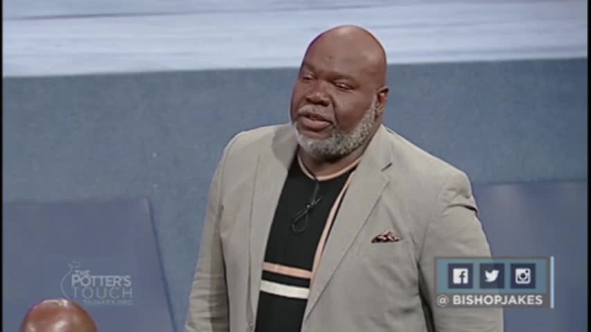 Get Out of Gethsemane by The Potter's Touch with Bishop T.D. Jakes
