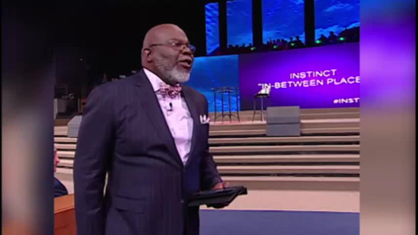 In Between Places by The Potter's Touch with Bishop T.D. Jakes