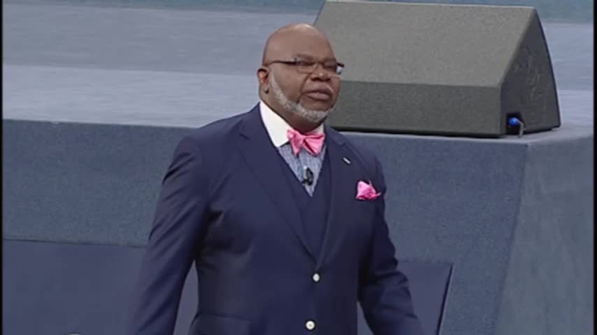 Blinded By Rage - The Potter's Touch with Bishop T D  Jakes