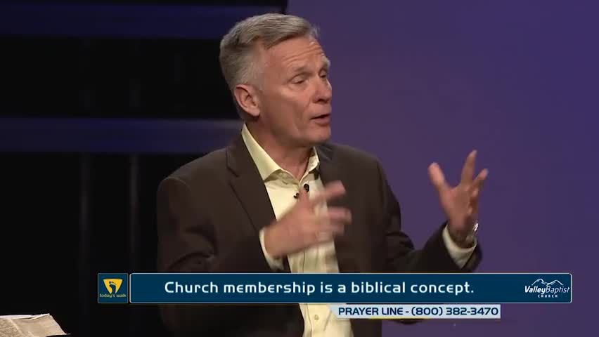 What the Bible Says About Church Membership by Today's Walk with Dr. Roger Spradlin