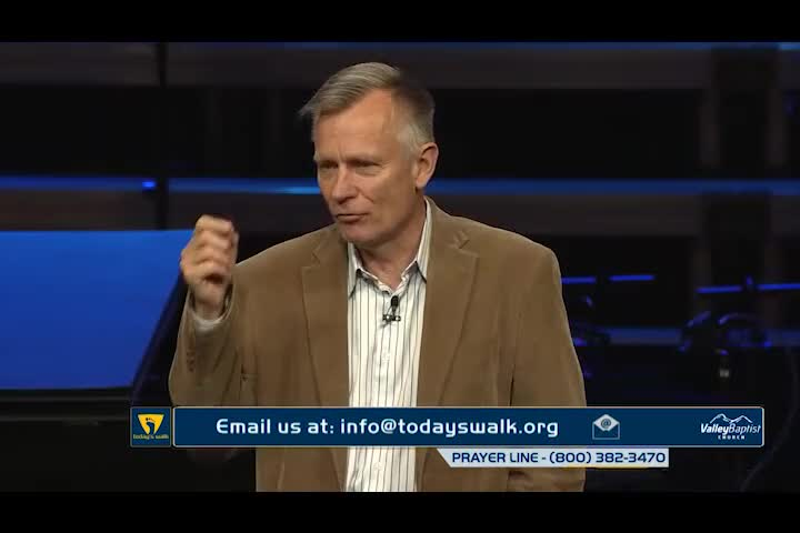 Breaking a Legacy of Passivity & Favoritism by Today's Walk with Dr. Roger Spradlin