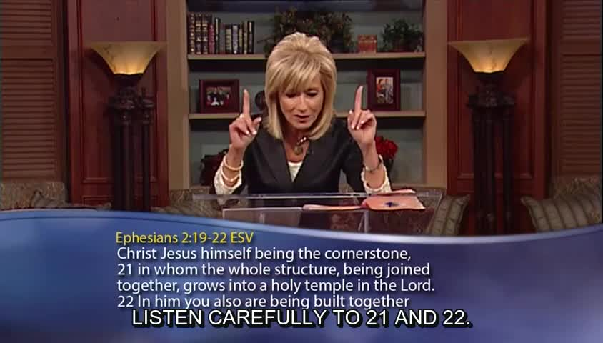 "Beth Moore: ""Built Together,"" Part 3 by Beth Moore - Wednesdays with Beth with Beth Moore"