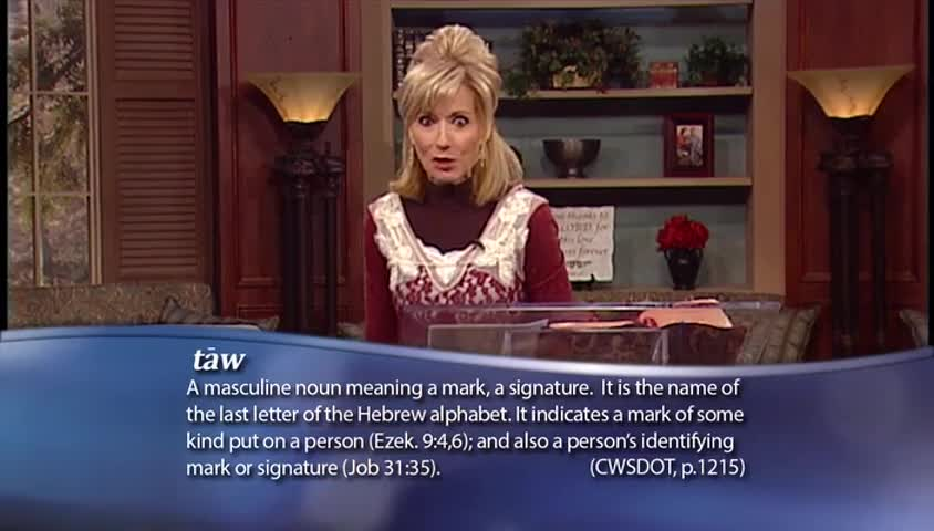 """Beth Moore: """"The Mark of God,"""" part 2"""