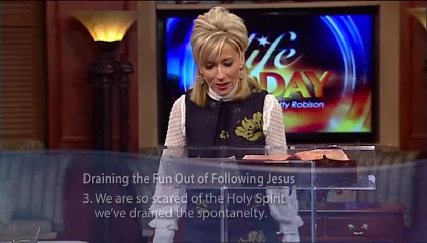 "Beth Moore: ""Fun With Jesus,"" part 2"